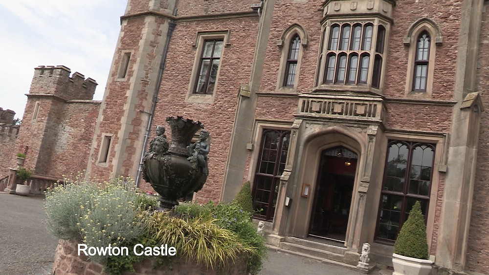 Wedding videographer at Rowton Castle, Midlands