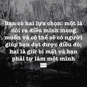 Nói ra điều mình mong muốn - Nguyễn Như Bình