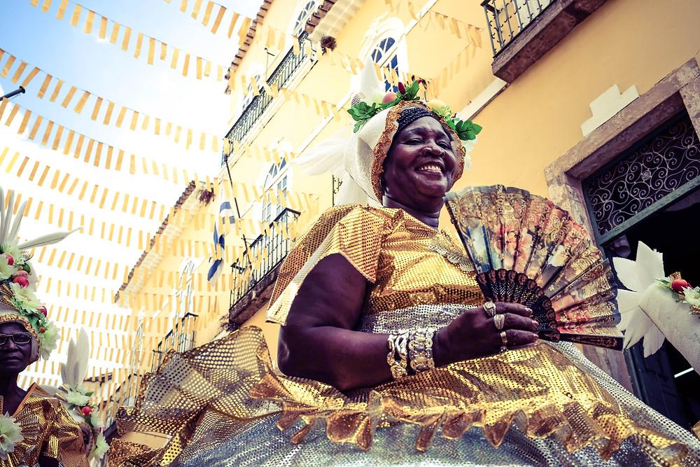 Bahia Brazil Carnival black bloco