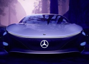 """Mercedes-Benz'in """"Avatar"""" Filminden Esinlenen Otomobil"""