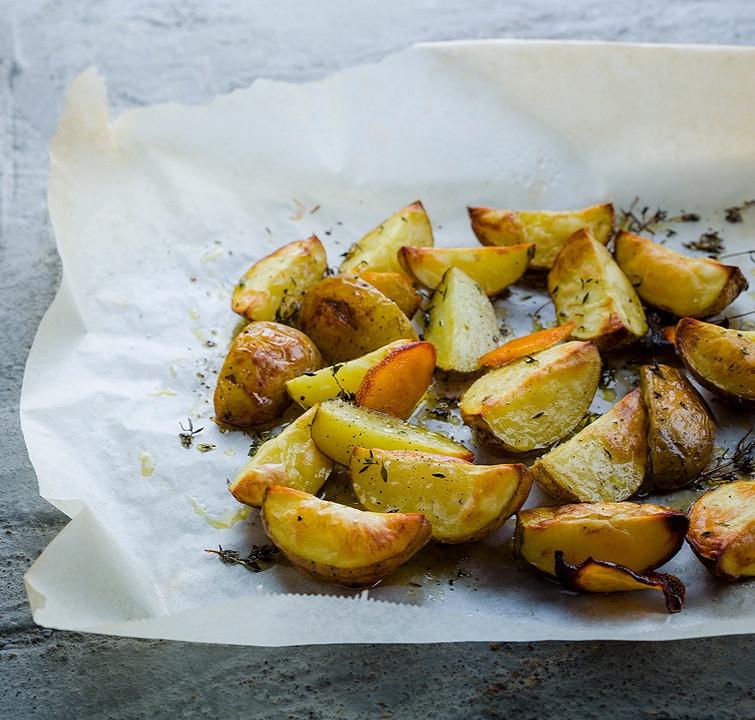 keptos bulvės, receptas, Alfas Ivanauskas