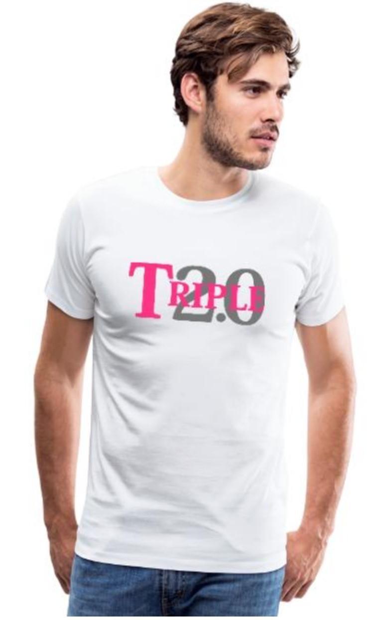 """FC Bayern München Double Triple 2020 Fan T-Shirt """"Triple 2.0"""""""