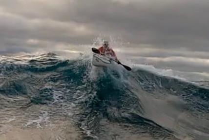 Losing rudder in a big Sydney swell