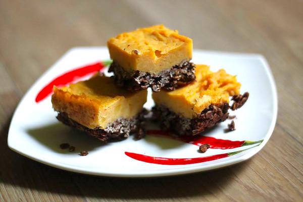 Zdravý batátový koláč