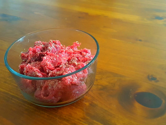 Ground Beef for the Manning Food Bank
