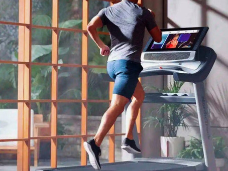 Marathon & Triathlon targeted treadmill workouts during the winter weather to build strength.....