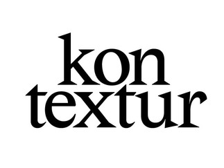 INTERVIEW // Kontextur
