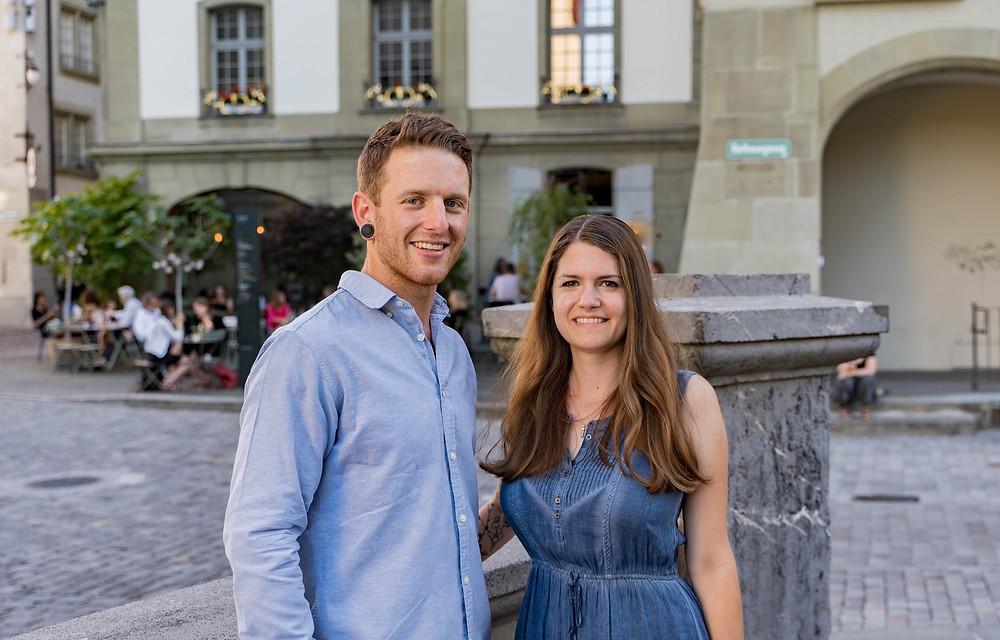 Das Co-Präsidium im Zentrum von Bern