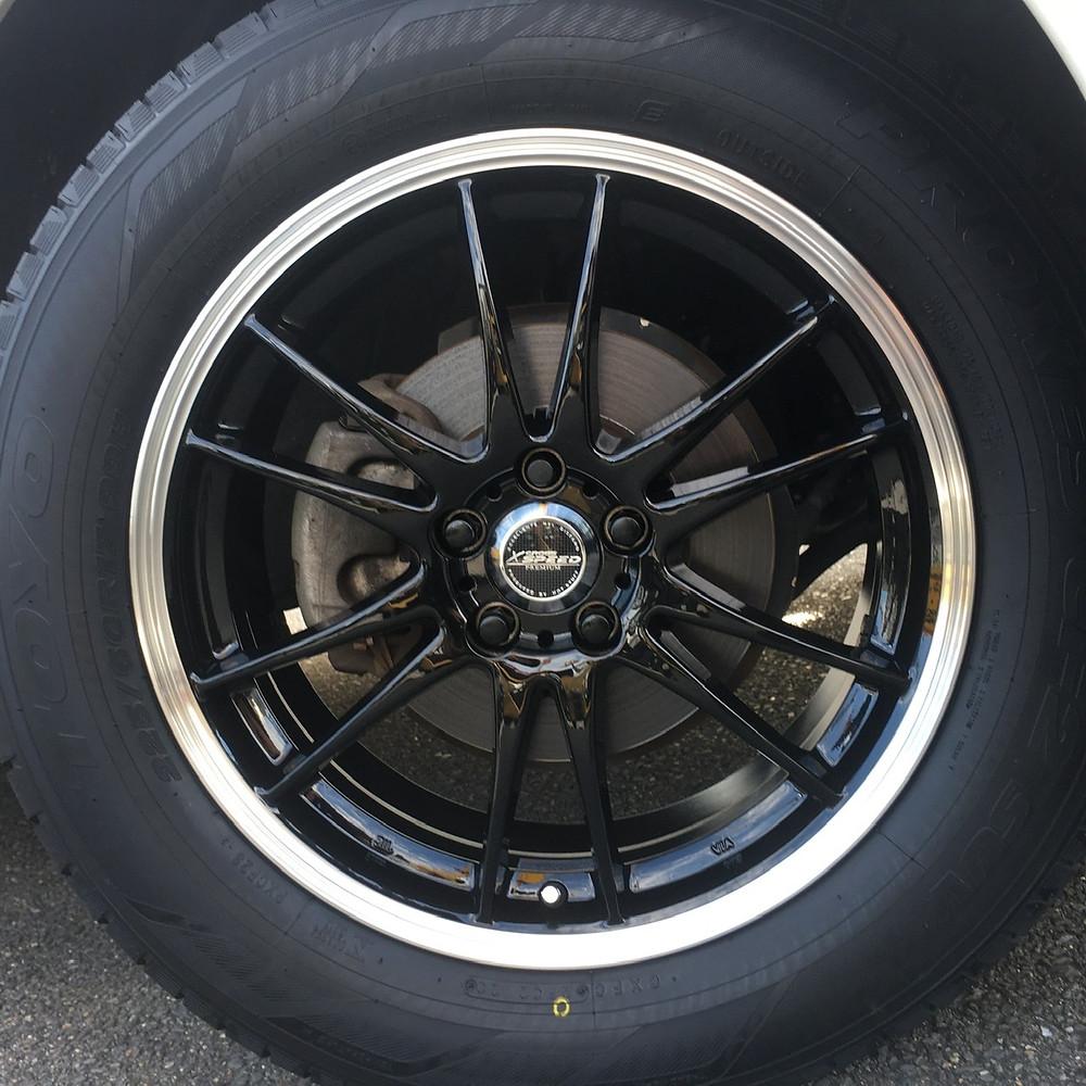 スバル フォレスター ホットスタッフ クロススピード プレミアム6ライト 17インチ 7J トーヨータイヤ プロクセス CF2 SUV