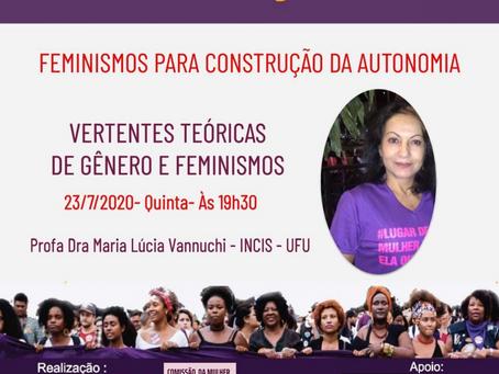 Curso de Formação Política: Feminismo para construção da autonomia