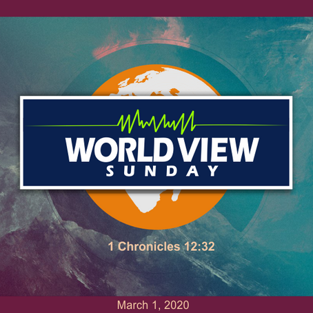 A Biblical Worldview: What It Is and Why It Matters