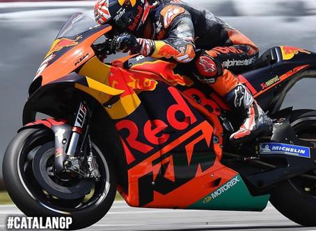สรุปอันดับของนักแข่ง SHARK รายการ MotoGP สนามที่ 7 ที่สนาม Circuit de Barcelona-Catalunya ประเทศสเปน