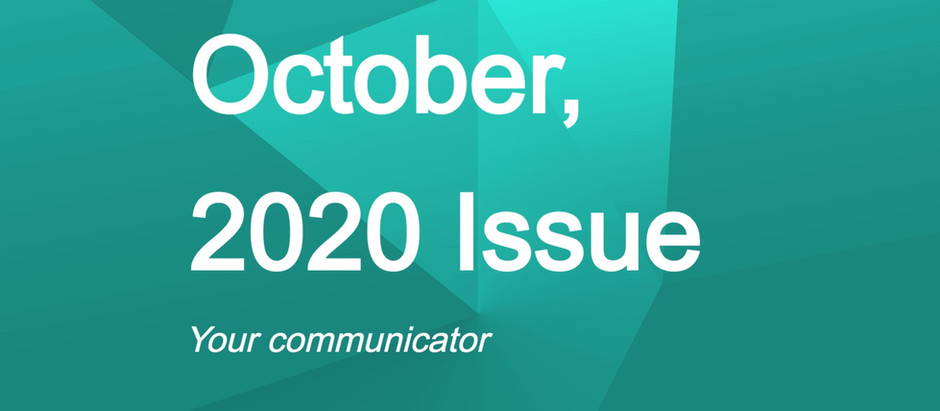 'Your Communicator' - October Issue
