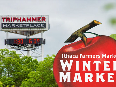 Ithaca Farmers Market:  Winter market has a new location at Triphammer Marketplace!
