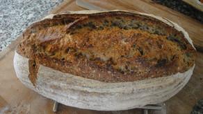 Ψωμί πολύσπορο με προζύμι