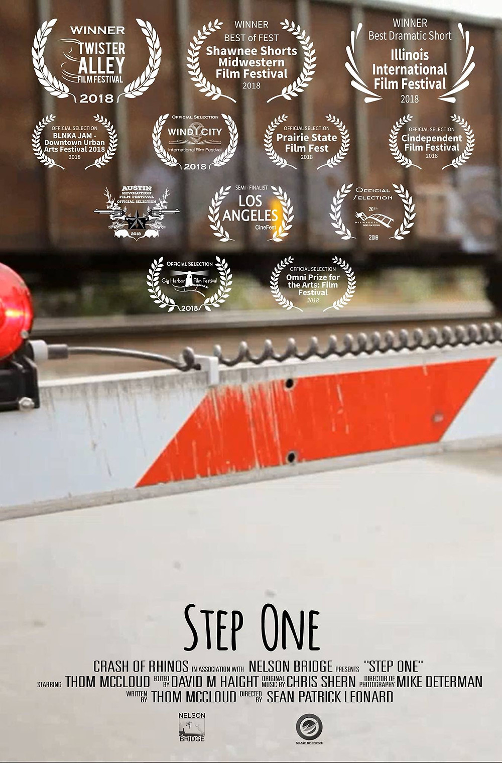 Step One short movie poster