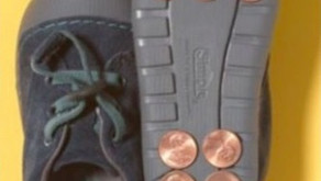 Plymouth parents are gluing pennies to their kids' shoes - WHY?