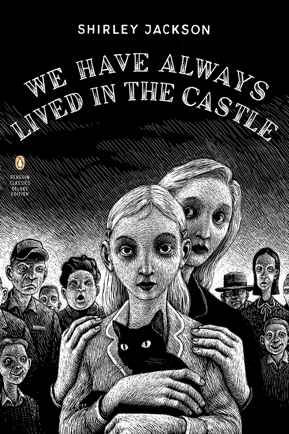 We Have Always Lived In The Castle by Shirley Jackson thebookslut Jonathan Lethem (Introduction by) Shirley Jackson (Author) Thomas Ott (Illustrator) Shirley Jackson's beloved gothic tale of a peculiar girl named Merricat and her family's dark secret Taking readers deep into a labyrinth of dark neurosis, We Have Always Lived in the Castle is a deliciously unsettling novel about a perverse, isolated, and possibly murderous family and the struggle that ensues when a cousin arrives at their estate. This edition features a new introduction by Jonathan Lethem. For more than seventy years, Penguin has been the leading publisher of classic literature in the English-speaking world. With more than 1,700 titles, Penguin Classics represents a global bookshelf of the best works throughout history and across genres and disciplines. Readers trust the series to provide authoritative texts enhanced by introductions and notes by distinguished scholars and contemporary authors, as well as up-to-date translations by award-winning translators. Product Details Price: $17.00  $15.64 Publisher: Penguin Books Published Date: October 31, 2006 Pages: 146 Dimensions: 5.69 X 0.63 X 8.38 inches | 0.42 pounds Language: English Type: Paperback ISBN: 9780143039976 BISAC Categories: Literary thebookslut