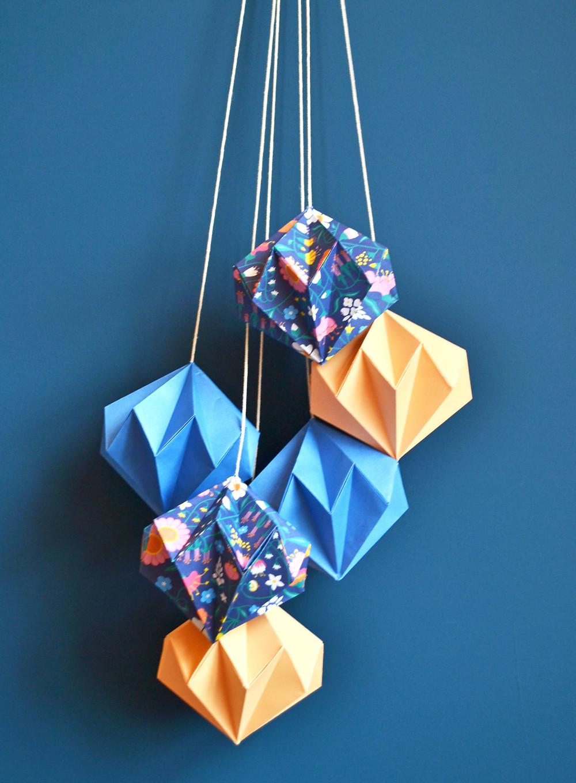 Origami decorations