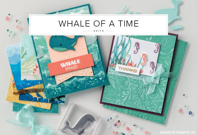 Whale of a Time Stampin' Up! Product Suite Image