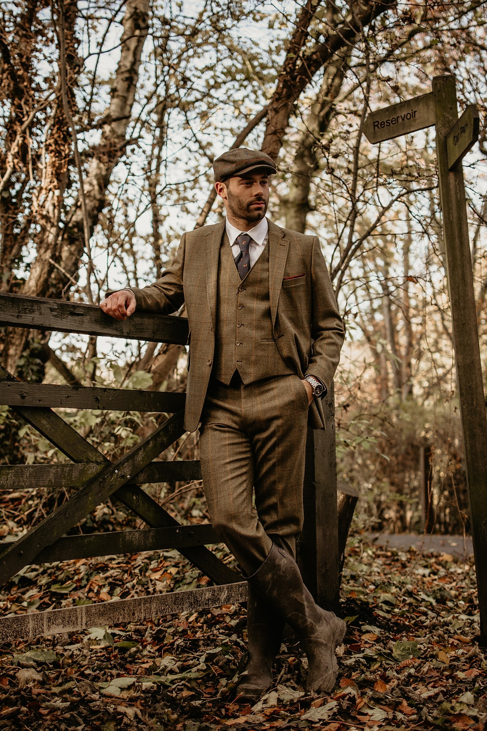 styled fashion countryside photo session england