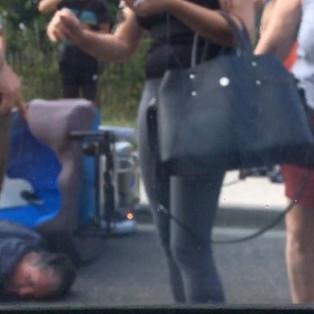 Toulouse: Vidéo d'un handicapé fauché sur la voie publique à Muret