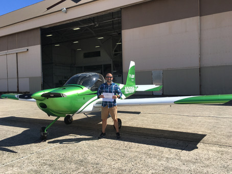 Checkride PASSED! - Private Pilot Ryan H.
