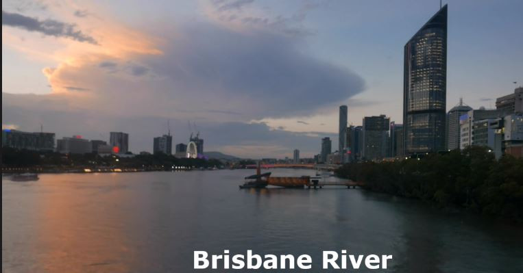 A scene from 'Brisbane River Nightscape'