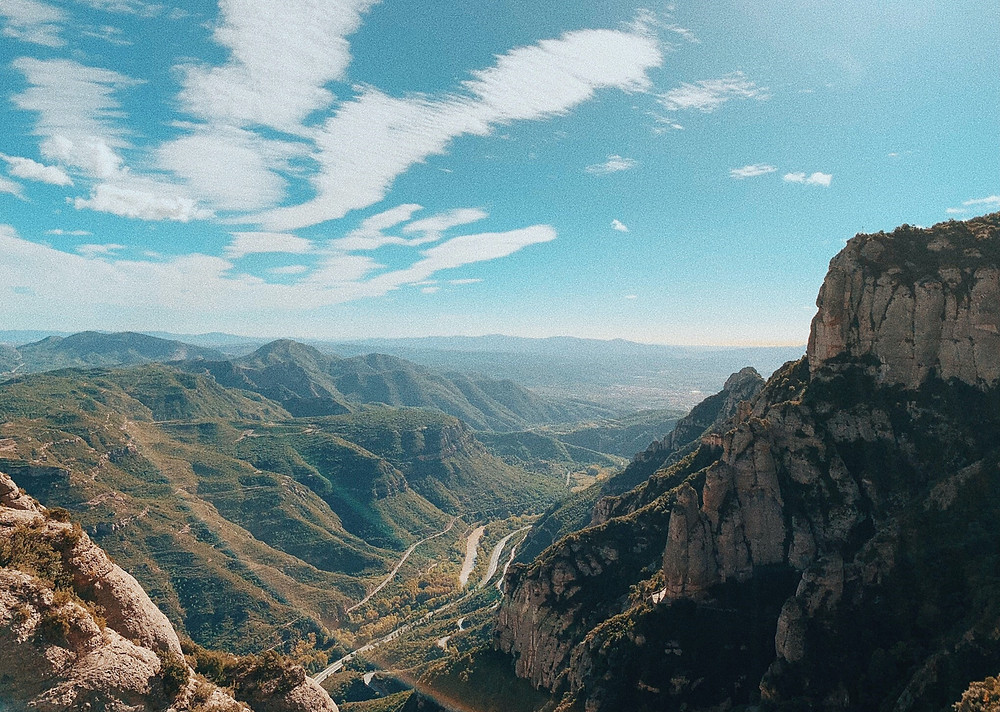 Travel to Montserrat and Catalonia