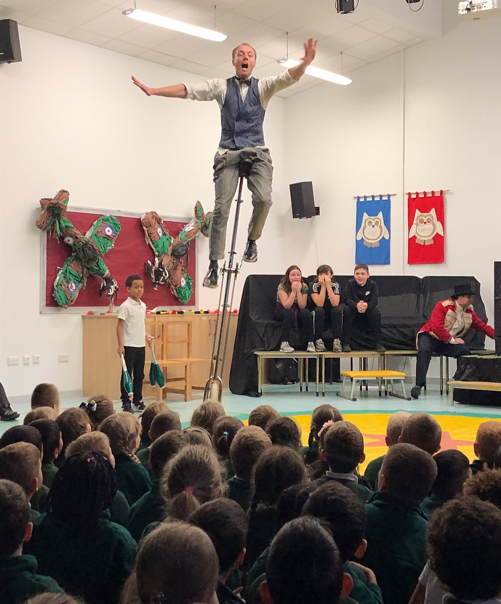 Exciting Circus Show for Primary Schools in UK