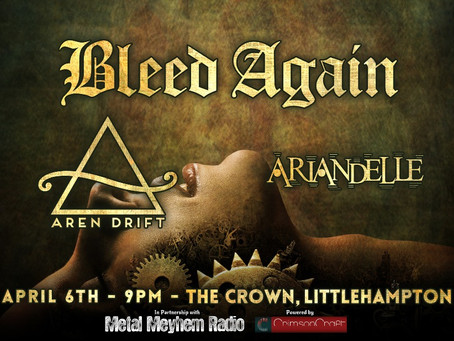 LARS Promotions Presents: Bleed Again with Aren Drift and Ariandelle