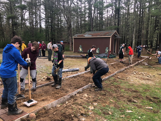 Annawon Chapter of Tulpe Lodge gives 60 hours of service to Camp Norse