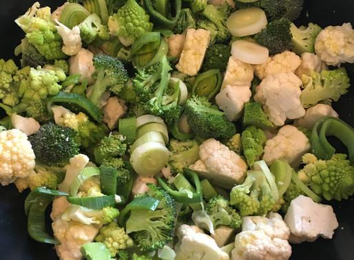 Weiße Gemüsesauce