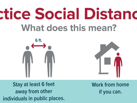 Social Distancing                                                A New Type of Normal?