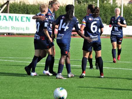 Seger i Dickursby förde upp Åland United i ligaledning