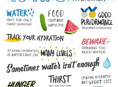Hydration and why it's so important