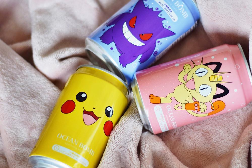 Pikachu Pokemon Drink, Pokemon Drink Meowth & Pokemon Drink Gengar