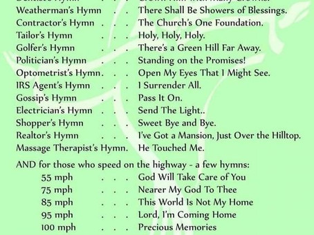 Do you know your Hymns ?