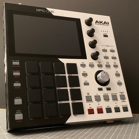 MPC One Custom Front Angle