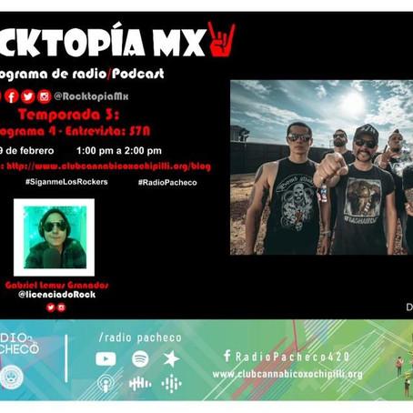#RADIOPACHECO #ROCKTOPÍAMX Temporada 3 - Programa 4 Entrevista: #S7N #AlAire 🎧🎙🎚