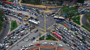 Vehicle Pollution Control At The Junction Using Rugged Board