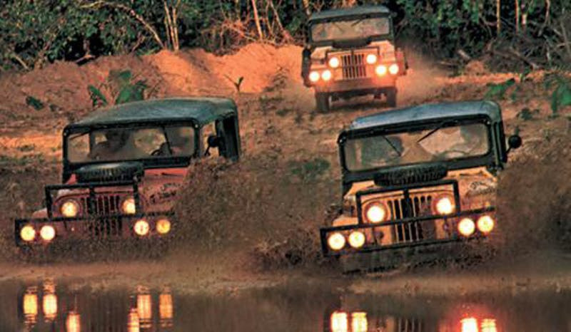 Original Camel Trophy Jeeps