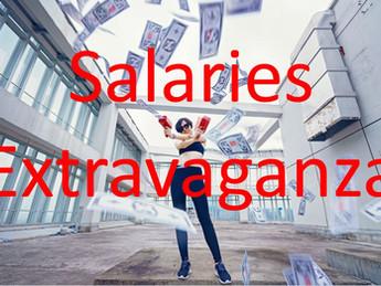 Extravagant salaries, it doesn't matter