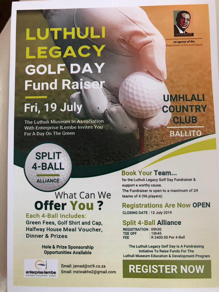 Luthuli Legacy Golf Day - 19July 2019