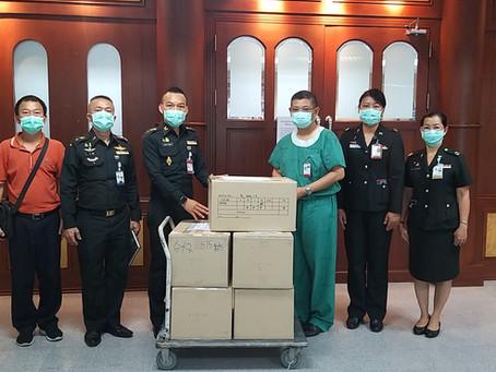 กองศัลยกรรม โรงพยาบาลพระมงกุฎเกล้า ขอขอบคุณ คุณวิชัย วชิรพงศ์
