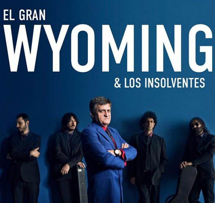 El gran Wyoming y los Insolventes en directo por el técnico de sonido y productor musical Lucas Toledo