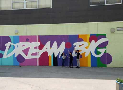 DIY Mural Success Thanks to Booze Allen Hamilton at West Adams High