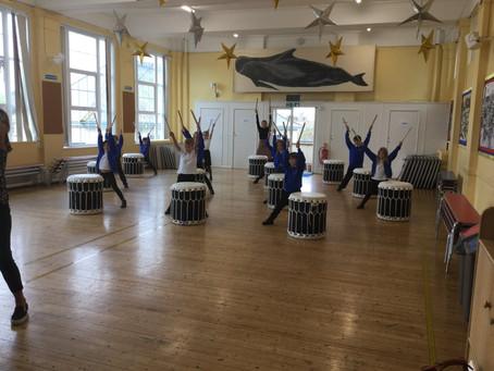 Taiko Drumming for 3EC