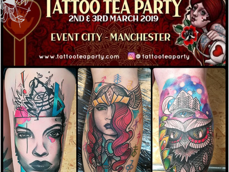 Tattoo Tea Party Convention - Manchester - 2 & 3 March 2019