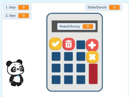 Scratch Mblock Calculator Hesap Makinesi